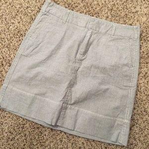 💚 Merona Seersucker Mini Skirt